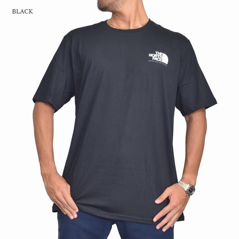 【SALE】 大きいサイズ メンズ ノースフェイス 半袖 ハーフドーム バックプリント Tシャツ USAモデル XL XXL 白 ホワイト THE NORTH FACE STANDARD FIT 【メール便対応】 [M便 1/1]