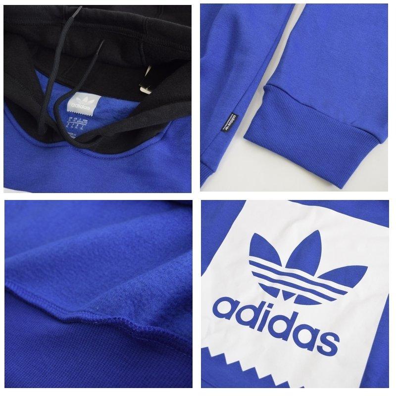 【SALE】 大きいサイズ メンズ adidas アディダス オリジナル originals スウエット プルオーバー パーカー 裏起毛 海外モデル USA ブルー ブラック 6XO XXL 4XO XL