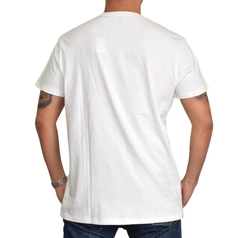 【SALE】 大きいサイズ メンズ ディーゼル Diesel クルーネック Tシャツ T-NOEM ホワイト 白 XXL XXXL 【メール便対応】 [M便 1/1]