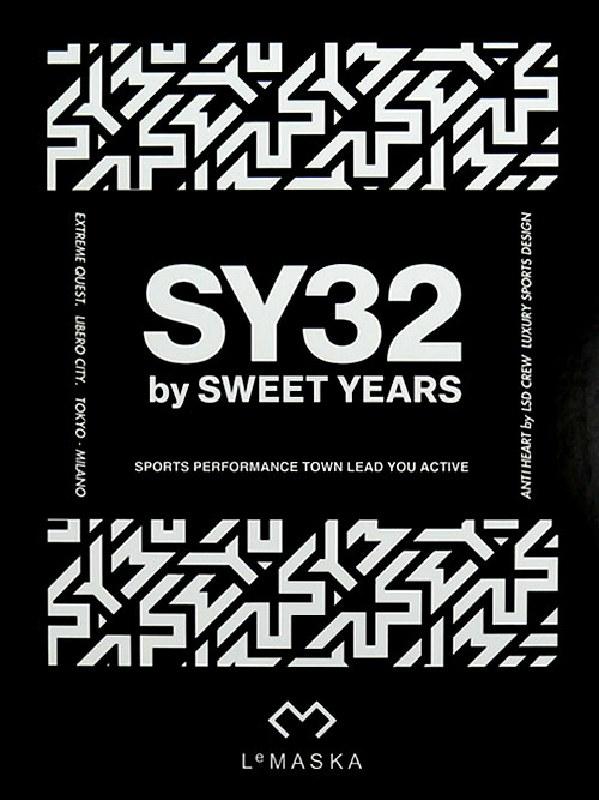 SY32 by SWEET YEARS スウィートイヤーズ SY MASK マスク Le MASKA別注 【メール便対応】 [M便 1/1]