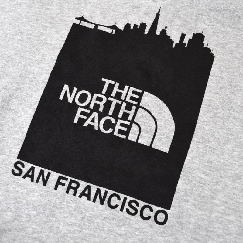 大きいサイズ メンズ ノースフェイス パーカー プルオーバー 裏起毛 スウェット San Francisco Pullover Hoodie USAモデル グレー XL XXL