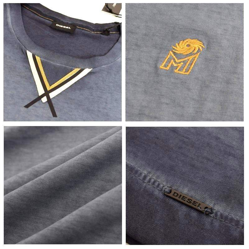 【SALE】 大きいサイズ メンズ ディーゼル Diesel クルーネック 半袖Tシャツ MI-T-S XXL 【メール便対応】 [M便 1/1]