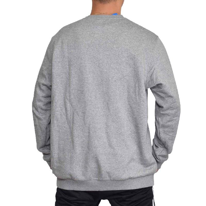 【SALE】 大きいサイズ メンズ adidas アディダス オリジナル originals スウエットシャツ クルーネック トレーナー 裏起毛 海外モデル USA グレー 6XO XXL 4XO XL