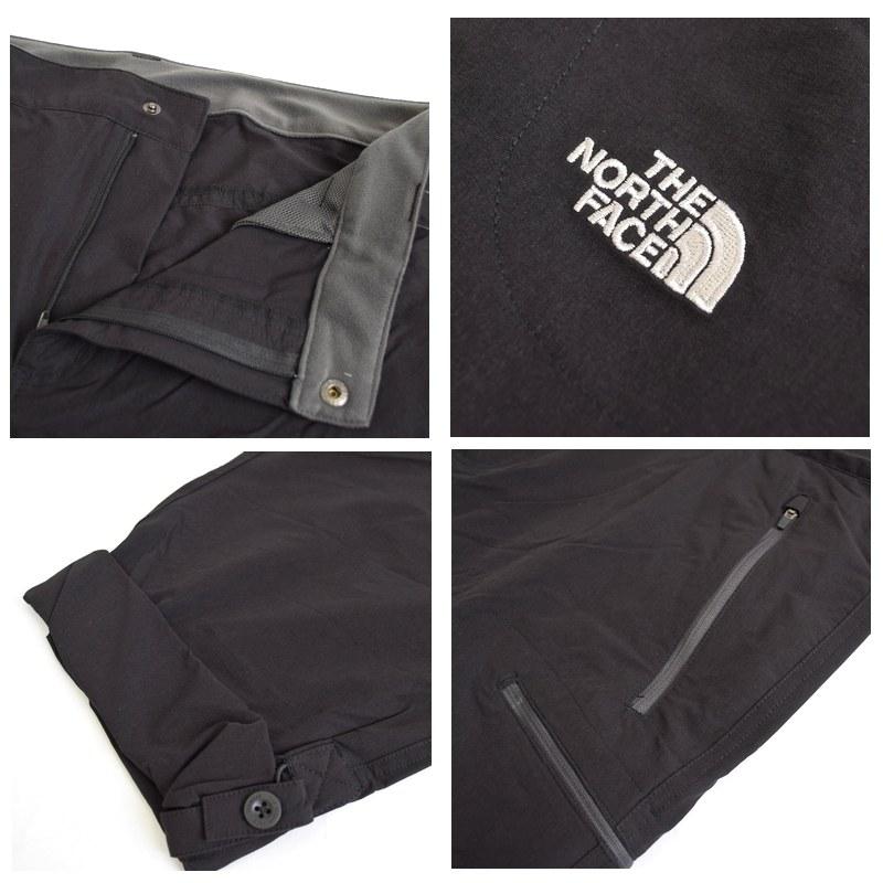 大きいサイズ メンズ ノースフェイス THE NORTH FACE Exploration Pants スポーツパンツ ナイロンパンツ 黒 ブラック 38 40 42インチ