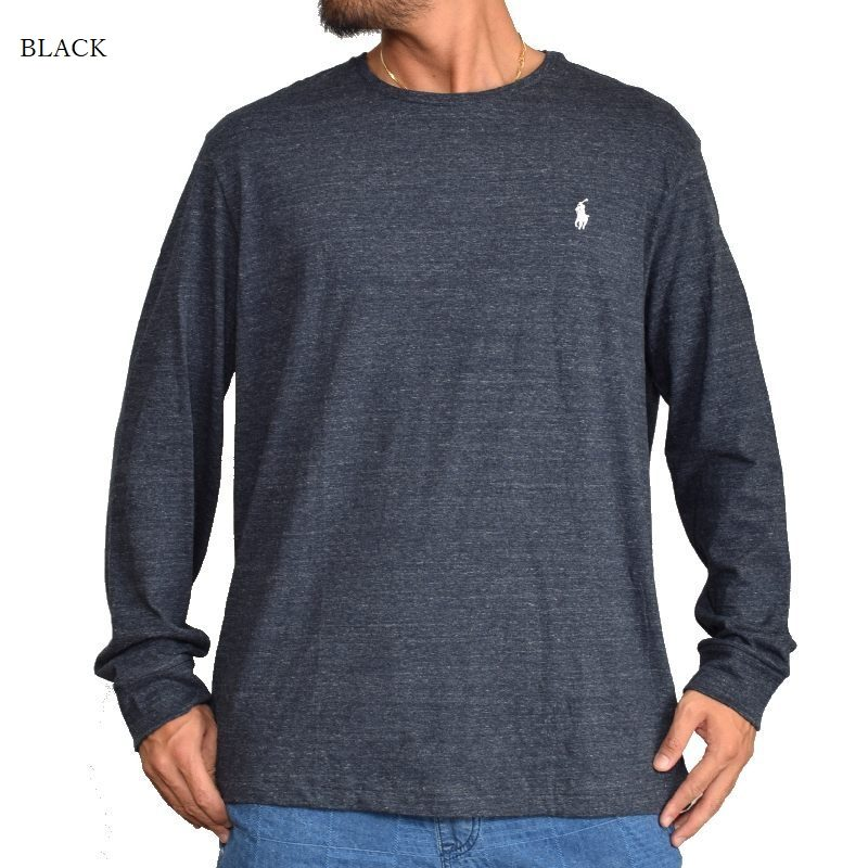 大きいサイズ メンズ ポロラルフローレン POLO RALPH LAUREN ワンポイント 長袖Tシャツ ロンT XL XXL