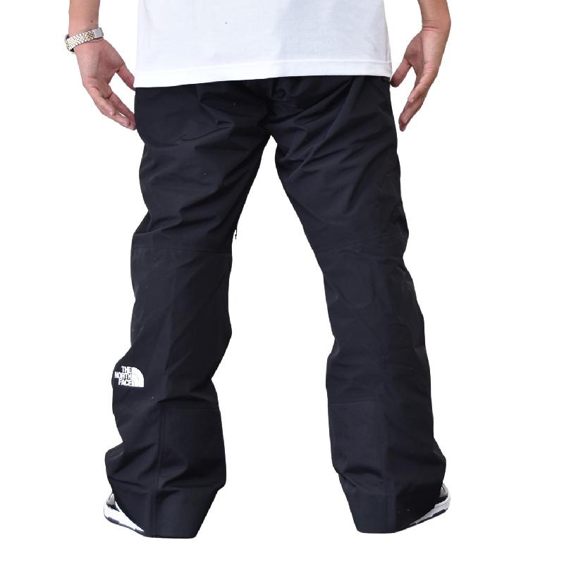 大きいサイズ メンズ ノースフェイス THE NORTH FACE パウダーフローパンツ スキー スノボ POWDERFLO PANT 黒 ブラック USAモデル XL XXL