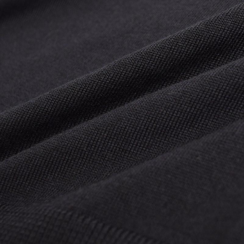 大きいサイズ メンズ アルマーニエクスチェンジ A/X ニット セーター Vネック プルオーバー 黒 ブラック グレー ARMANI EXCHANGE XL XXL