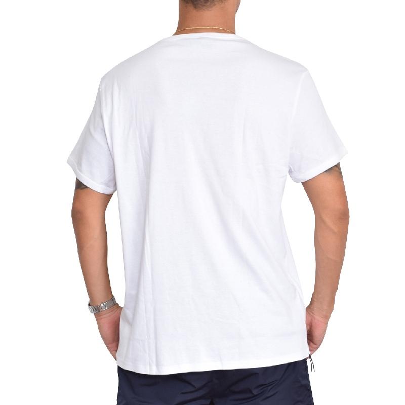 大きいサイズ メンズ G-STAR RAW ジースターロゥ クルーネック ロゴプリント 半袖Tシャツ ホワイト 白 XL XXL 【メール便対応】 [M便 1/1]