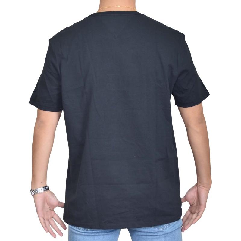 大きいサイズメンズ TOMMY HILFIGER トミーヒルフィガー 半袖Tシャツ クルーネック ロゴプリント 白 ホワイト 黒 ブラック 赤 レッド XL XXL XXXL 【メール便対応】 [M便 1/1]