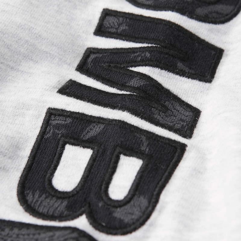 大きいサイズ メンズ アバクロ Abercrombie&Fitch ロンT 長袖Tシャツ クルーネック アームロゴ XXL 【メール便対応】 [M便 1/1]