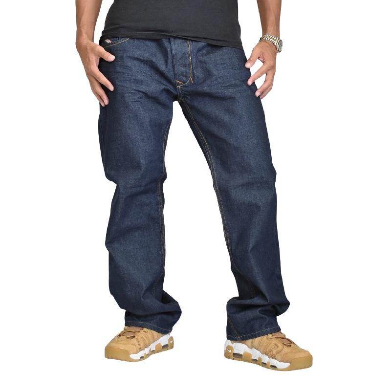 大きいサイズ メンズ DIESEL ディーゼル デニムパンツ ジーンズ REGULAR STRAIGHT ストレート LARKEE 008Z8 38インチ