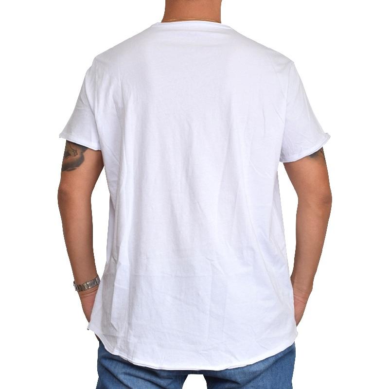 【SALE】 大きいサイズ メンズ アルマーニエクスチェンジ A/X ARMANI EXCHANGE ロゴプリント クルーネック 半袖Tシャツ SLIM FIT  白 ホワイト XL XXL 【メール便対応】 [M便 1/1]