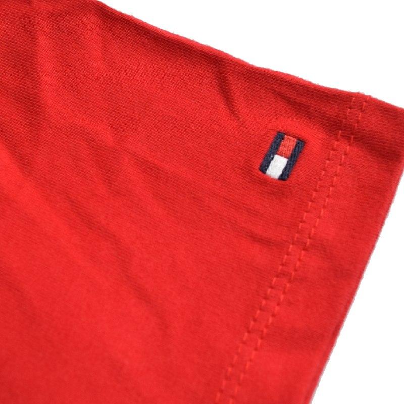 【SALE】 大きいサイズメンズ トミーヒルフィガージーンズ TOMMY HILFIGER JEANS クルーネック 半袖Tシャツ 白 赤 黄色 XXL XXXL 【メール便対応】 [M便 1/1]