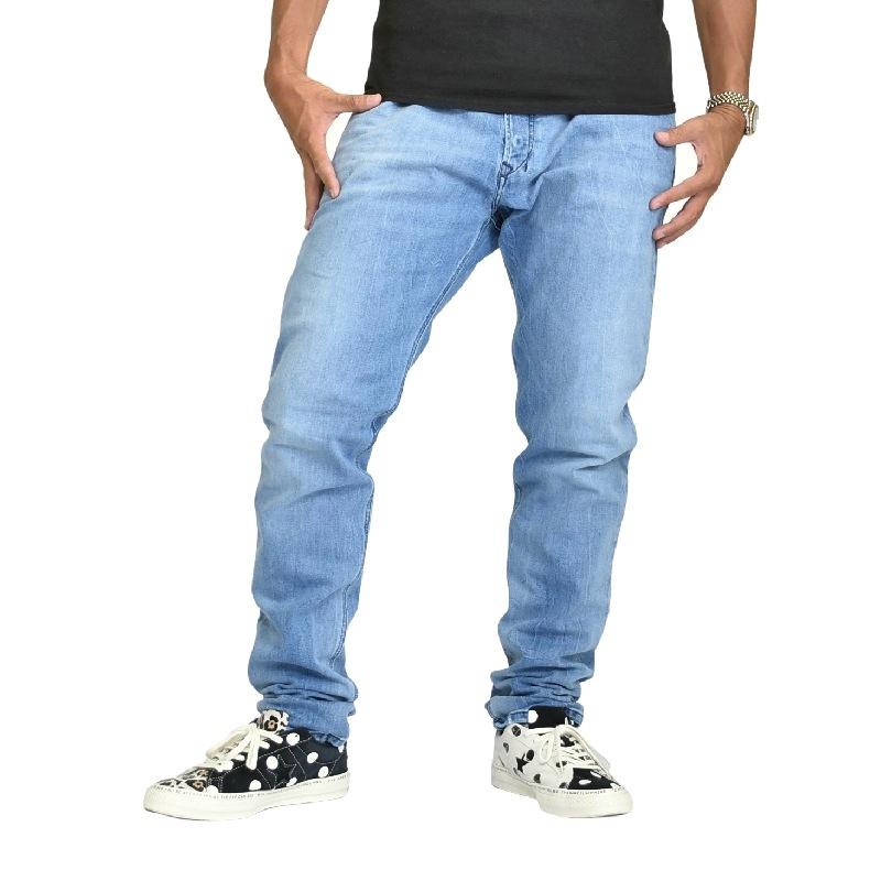 大きいサイズ メンズ DIESEL ディーゼル デニムパンツ ジーンズ スリム TEPPHAR 081AL STRETCH 40インチ