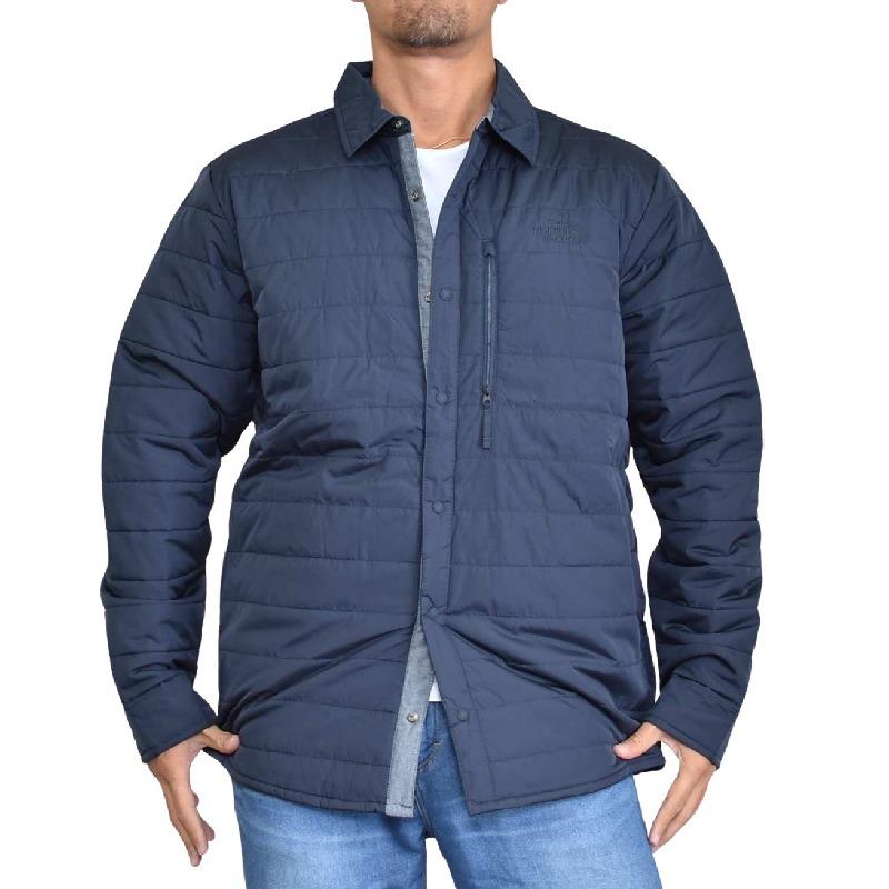 大きいサイズ メンズ ノースフェイス THE NORTH FACE 中綿 シャツジャケット アウター ネイビー SHACKET USAモデル XL XXL
