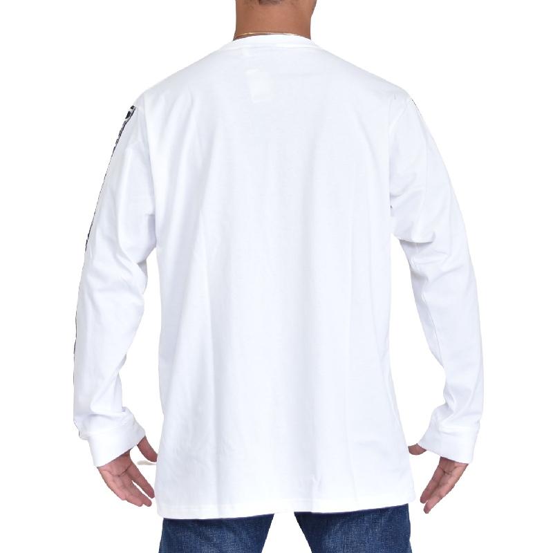 大きいサイズ メンズ NESTA BRAND ネスタブランド ロンT 長袖Tシャツ 20th アニバーサリー 白 黒 ホワイト ブラック XXL XXXL  【メール便対応】 [M便 1/1]