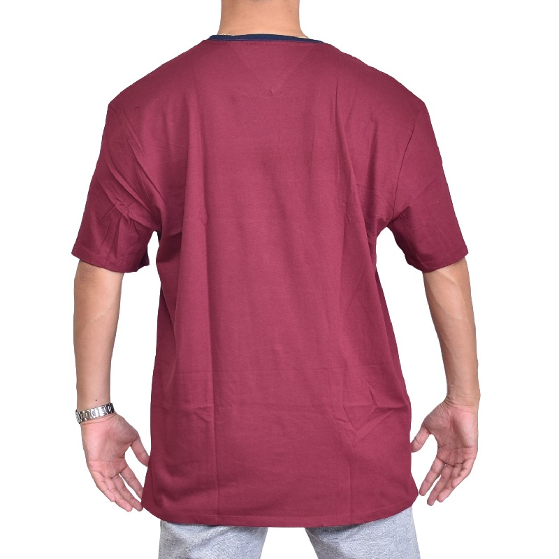 【SALE】 大きいサイズメンズ トミーヒルフィガーデニム TOMMY HILFIGER DENIM クルーネック 半袖Tシャツ XXL XXXL 【メール便対応】 [M便 1/1]