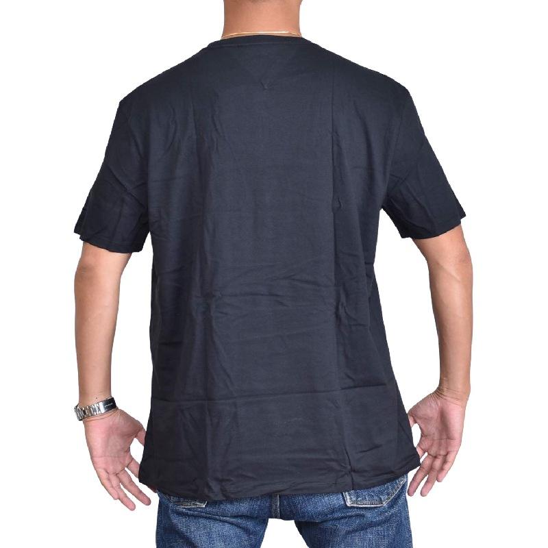 大きいサイズメンズ TOMMY HILFIGER SPORT トミーヒルフィガースポーツ 半袖Tシャツ クルーネック 黒 ブラック ネイビー XL XXL 【メール便対応】 [M便 1/1]
