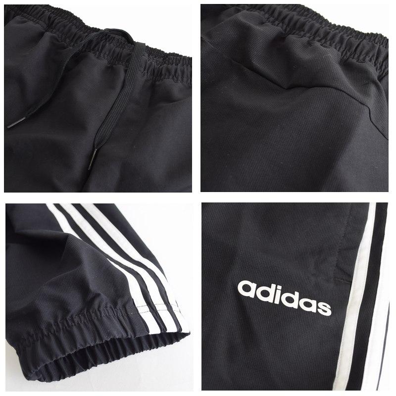 大きいサイズ メンズ adidas アディダス ウインドウパンツ ジャージ 三本ライン シャカパン シャカシャカ トラック 海外モデル 黒 ブラック ネイビー XL XXL 2XO 4XO 6XO