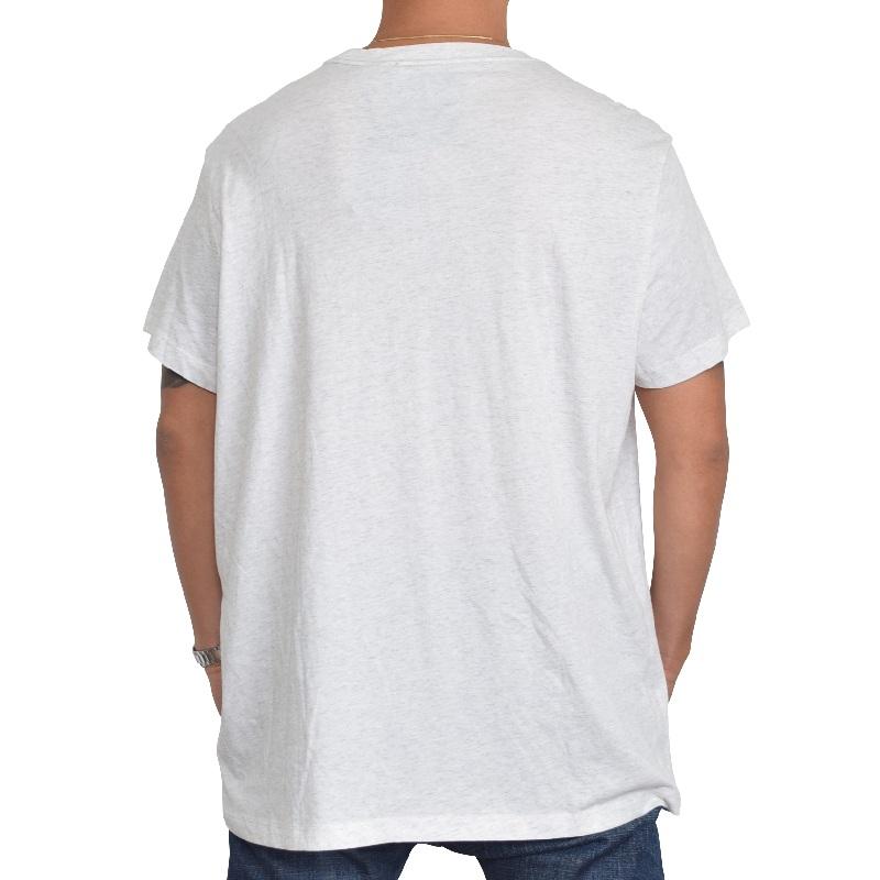 【SALE】 大きいサイズ メンズ G-STAR RAW ジースターロゥ Vネック ワンポイントロゴ 半袖Tシャツ DRILLON V T S/S XL XXL 【メール便対応】 [M便 1/1]