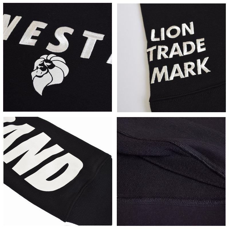 大きいサイズ メンズ NESTA BRAND ネスタブランド ロゴライン トレーナー 裏毛 クルー スウェットシャツ XXL XXXL