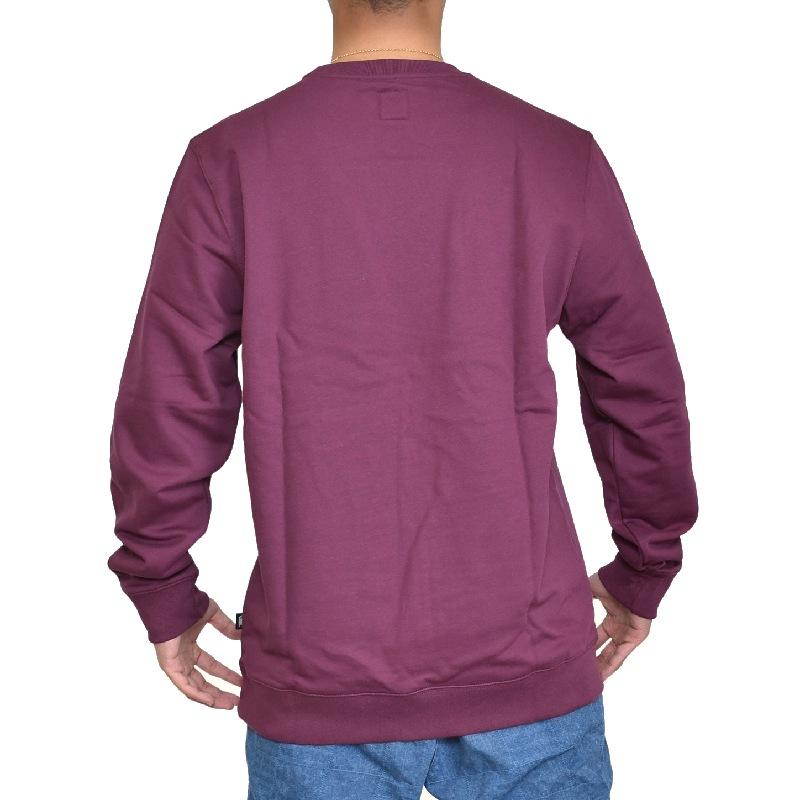 【SALE】 大きいサイズ メンズ VANS バンズ パーカー スウェットシャツ クルーネック トレーナー 裏起毛 USAモデル XL XXL
