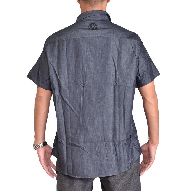 大きいサイズ メンズ アルマーニエクスチェンジ A/X ARMANI EXCHANGE カジュアル 半袖シャツ XL XXL