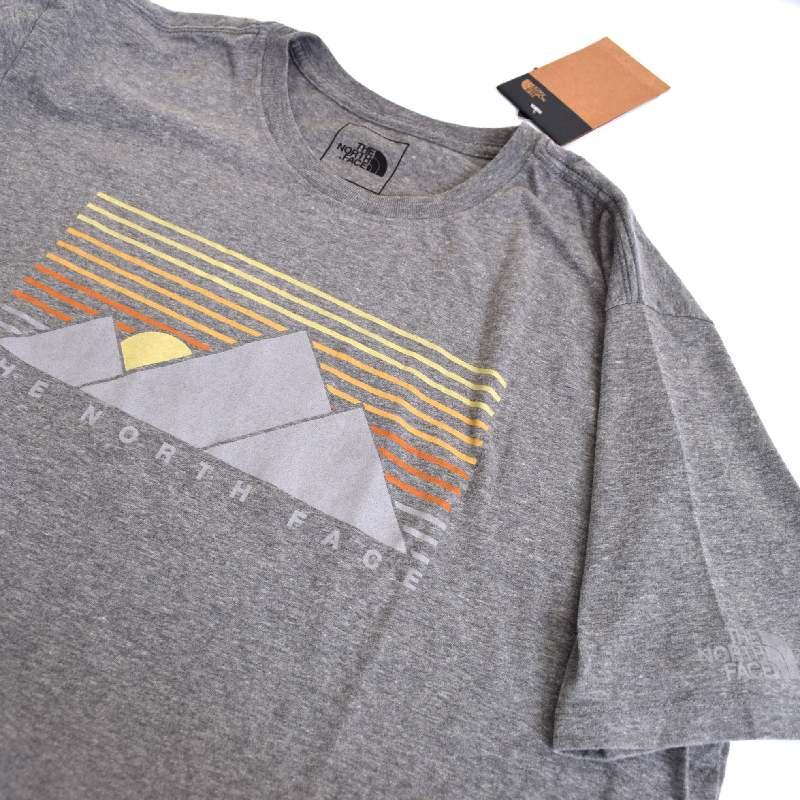 大きいサイズ メンズ ノースフェイス 半袖 Tシャツ ロゴプリント USAモデル XL XXL THE NORTH FACE 【メール便対応】 [M便 1/1]