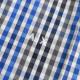 大きいサイズ メンズ アルマーニエクスチェンジ A/X ARMANI EXCHANGE カジュアル チェック柄 半袖シャツ REGULAR FIT XL XXL