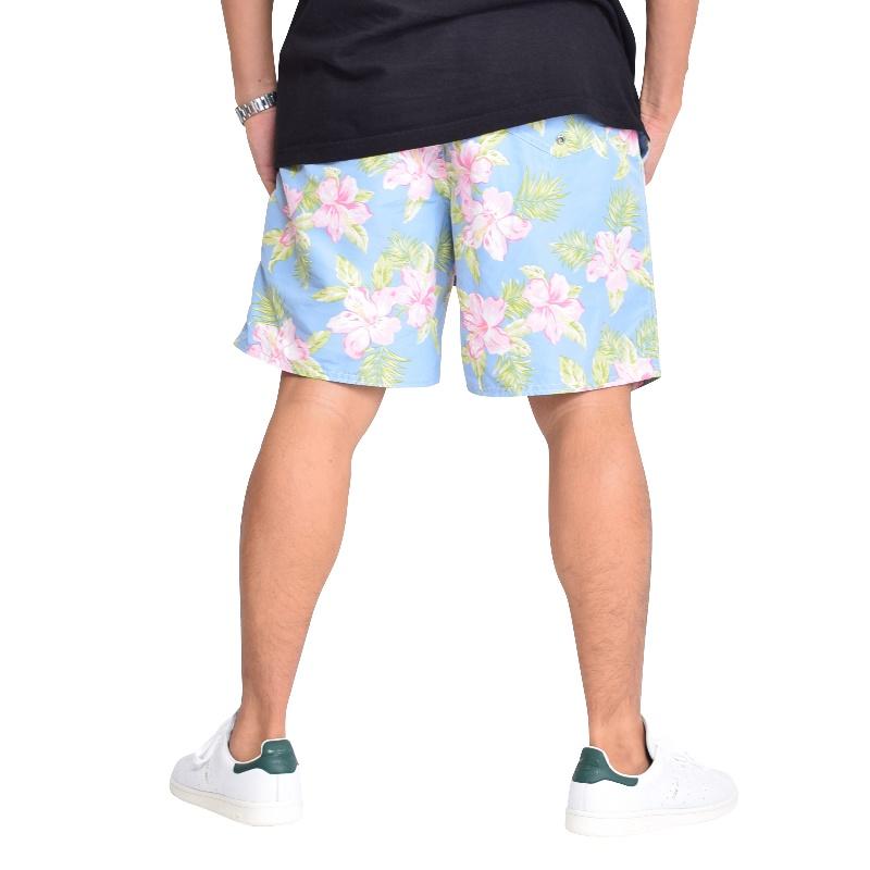 大きいサイズ メンズ ポロラルフローレン POLO RALPH LAUREN スイムショーツ ハーフパンツ ショートパンツ フラワー 花柄 水陸両用 サポーター XL XXL