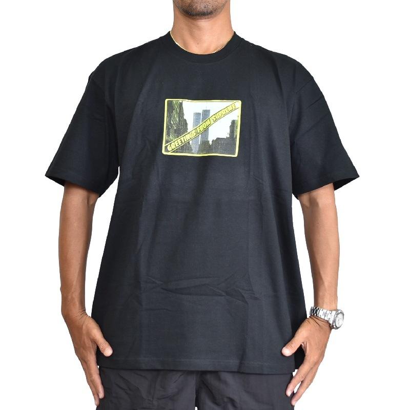 大きいサイズ メンズ Supreme シュプリーム ロゴプリンT 半袖Tシャツ 2020SS Supreme Greetings Tee 半袖Tシャツ XL