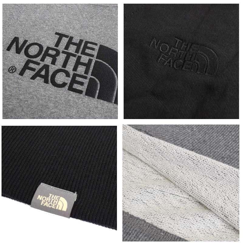 大きいサイズ メンズ ノースフェイス THE NORTH FACE スウェットシャツ クルー トレーナー 裏毛 海外モデル 黒 グレー XL XXL