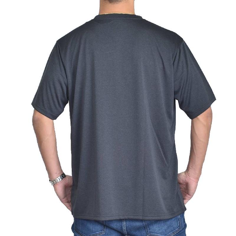 大きいサイズメンズ チャンピオン Champion C VAPOR TRAINING 半袖Tシャツ 黒 白 ネイビー 3L 4L 5L 【メール便対応】 [M便 1/1]