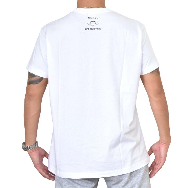 大きいサイズ メンズ DIESEL ディーゼル 半袖 クルーネック Tシャツ 白 ホワイト T-DIEGO-YD XXXL 【メール便対応】 [M便 1/1]