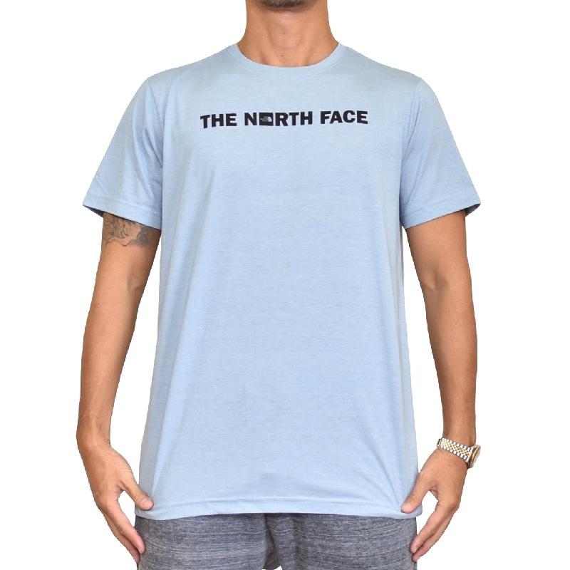 大きいサイズ メンズ ノースフェイス 半袖 Tシャツ ロゴプリント USAモデル SLIM FIT XL XXL THE NORTH FACE 【メール便対応】 [M便 1/1]