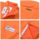 【アウトレット返品不可】DURKL ダークル フルジップ 中綿ベスト 薄手 オレンジ DAVIS PUFFY VEST XL
