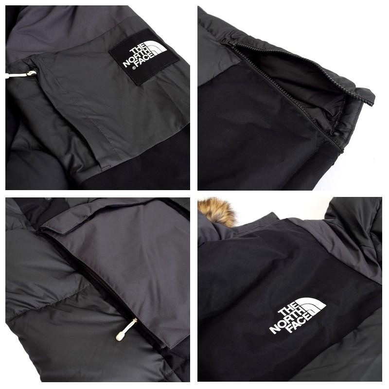 大きいサイズ メンズ ノースフェイス THE NORTH FACE ダウンジャケット VOSTOK PARKA ボックスロゴ フードファー XL
