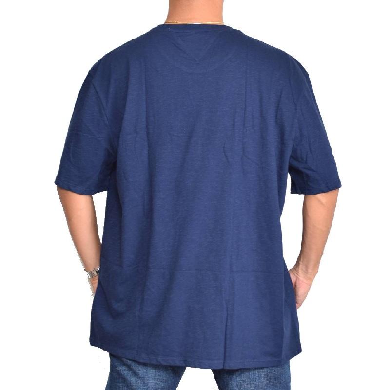 【SALE】 大きいサイズメンズ トミーヒルフィガー クルーネック 半袖Tシャツ USAモデル 白 ホワイト ネイビー TOMMY HILFIGER XL XXL 【メール便対応】 [M便 1/1]