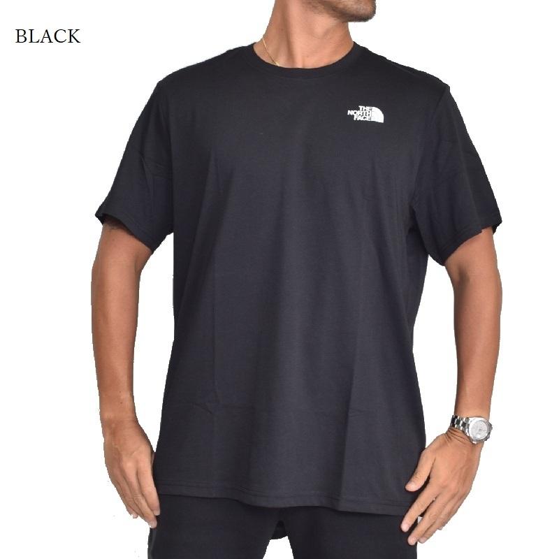 大きいサイズ メンズ ノースフェイス 半袖 ボックスロゴ Tシャツ RED BOX 黒 白 ヨーロッパライン 海外限定 THE NORTH FACE XL XXL 【メール便対応】 [M便 1/1]