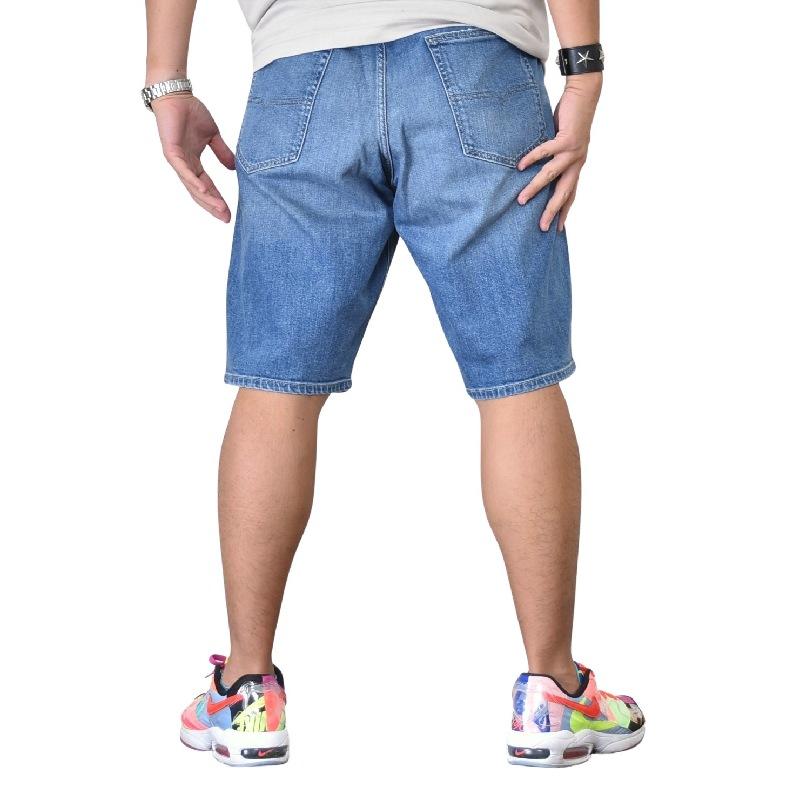 大きいサイズ メンズ DIESEL ディーゼル デニム ハーフパンツ ショーツ ジーンズ KEESHORT R30K9 STRECH 38インチ