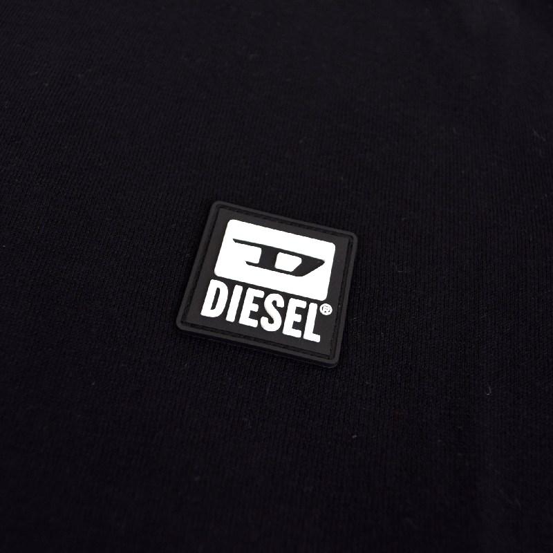 大きいサイズ メンズ Diesel ディーゼル K-FREEX-B クルーネック セーター ニット ワンポイント XXL