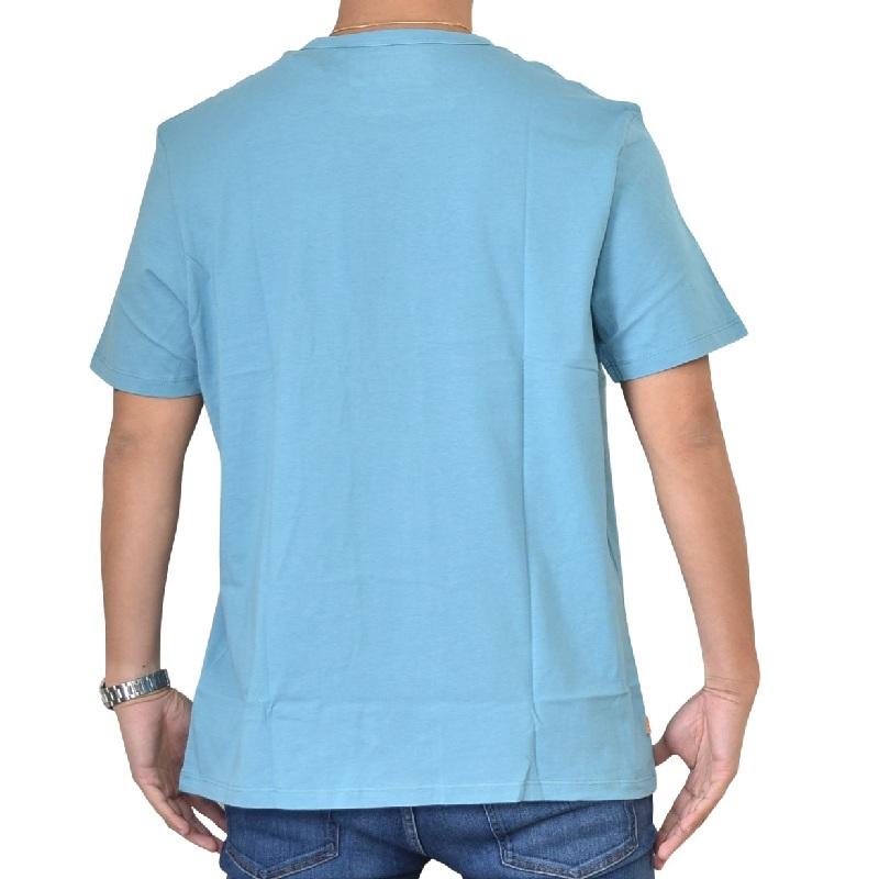 大きいサイズ メンズ ティンバーランド 半袖 パームツリー ボックス グラフィックロゴ Tシャツ Timberland USAモデル XL XXL XXXL 【メール便対応】 [M便 1/1]