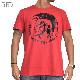 【SALE】 大きいサイズ メンズ ディーゼル Diesel クルーネック 半袖Tシャツ モヒカン T-ULYSSE XXL XXXL 【メール便対応】 [M便 1/1]