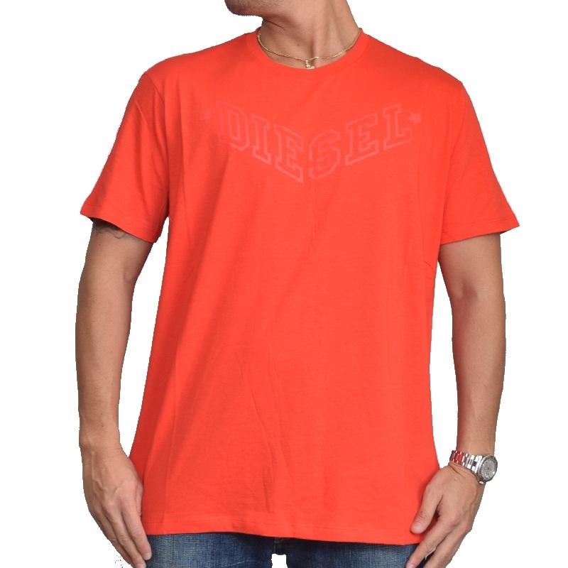 【SALE】 大きいサイズ メンズ ディーゼル Diesel クルーネック Tシャツ R-JOE-I 黒 白 赤 ネイビー XXL XXXL 【メール便対応】 [M便 1/1]