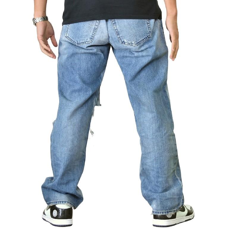 大きいサイズ メンズ DIESEL ディーゼル デニムパンツ ジーンズ レギュラー D-KODECK REGULAR 088AP 40インチ