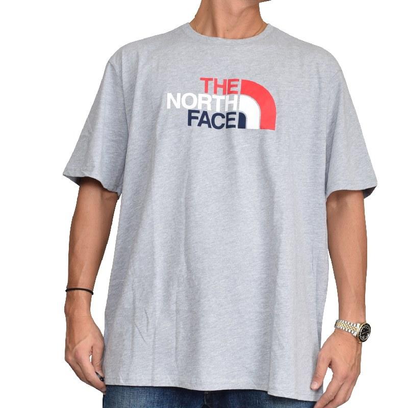 【SALE】 大きいサイズ メンズ ノースフェイス THE NORTH FACE 半袖 ロゴプリント Tシャツ  STANDARD / CLASSIC FIT USAモデル XL XXL 【メール便対応】 [M便 1/1]