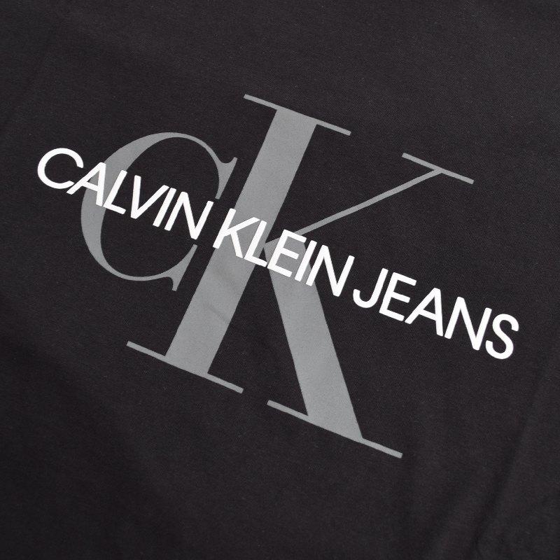 大きいサイズ メンズ CK カルバンクラインジーンズ Calvin Klein Jeans クルーネック 半袖Tシャツ 黒 白 ネイビー ライトブルー XL XXL 【メール便対応】 [M便 1/1]