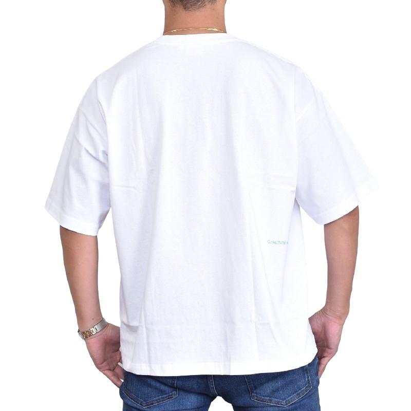 【SALE】 大きいサイズ メンズ FILA HERITAGE フィラ ヘリテージライン Tシャツ 半袖  クルーネック 黒 白 ブラック ホワイト XL XXL XL XXL 【メール便対応】 [M便 1/1]