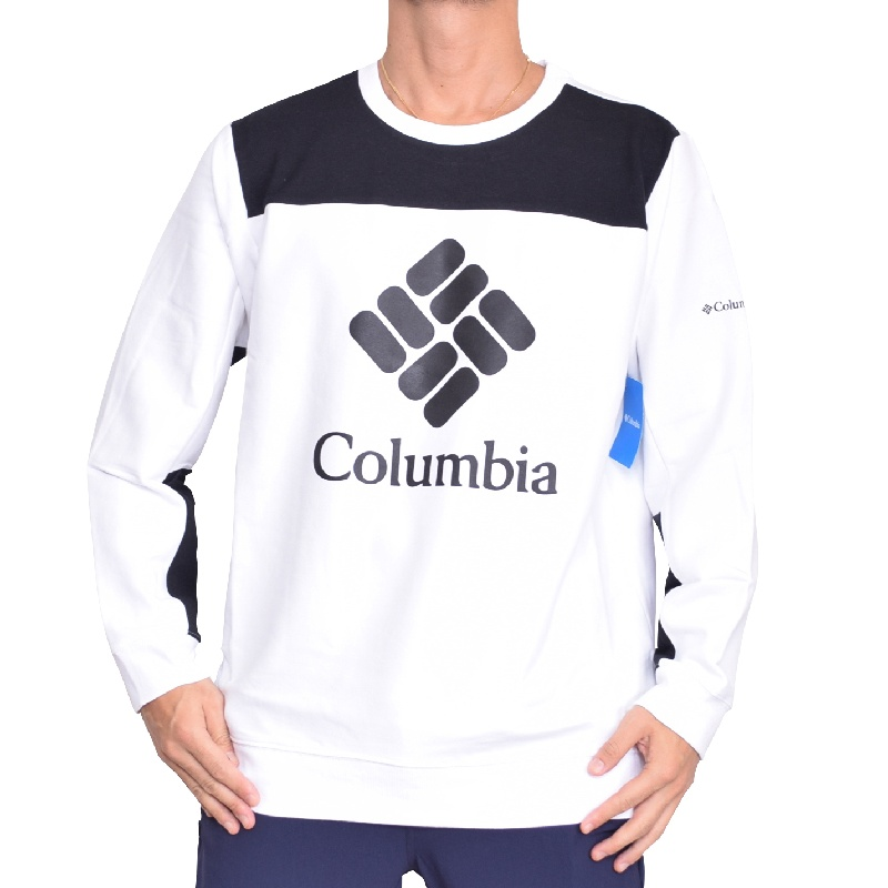 【SALE】 大きいサイズ メンズ COLUMBIA コロンビア Lodge Colorblock Crew スウェット クルーネック 裏起毛 トレーナー XXL