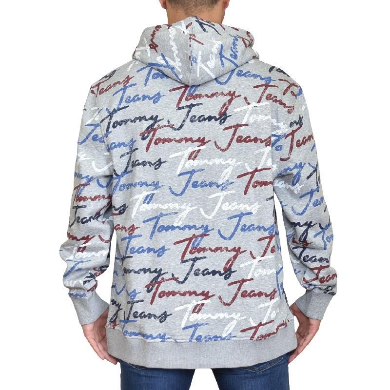 大きいサイズメンズ TOMMY HILFIGER JEANS トミーヒルフィガージーンズ プルオーバー パーカー スウェット XL XXL XXXL